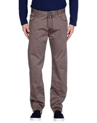 Pt05 Trousers Casual Trousers Men Light Brown
