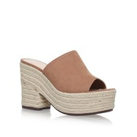 Nine West Skyrocket Espadrille Mules Beige