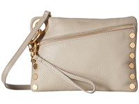 Hammitt Nash Haze Pebble Brushed Gold Handbags Beige