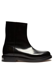 Vetements X Church's Leather Ankle Boots Black