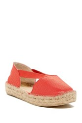 Kenneth Cole Reaction How Nol Ez Espadrille Flat Orange