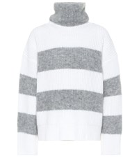 Dorothee Schumacher Cosy Cool Mohair Blend Sweater White