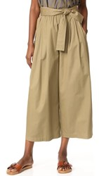 Tome Cotton Drill Karate Pants Khaki