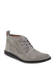 John Varvatos Star Leather Chukka Boots Elephant