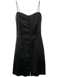 Nanushka Mabel Dress Black