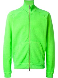 Dsquared2 Zipped Up Cardigan Green