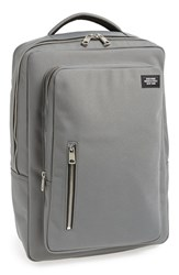 Men's Jack Spade Nylon Cargo Backpack Grey Charcoal