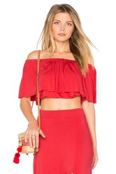 Clayton Molly Top Red