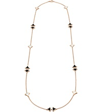 Bulgari Diva Sautoir 18Ct Pink Gold Necklace