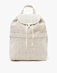 Baggu Backpack In Natural Grid