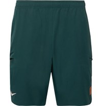 Tennis Nikecourt Roger Federer Flex Ace Dri Fit Tennis Shorts Dark Green