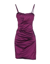 Flavio Castellani Dresses Short Dresses Women Purple