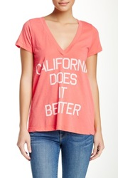 Rebel Yell Cali Does It Better Tee Pink