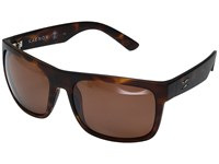 Kaenon Burnet Xl Matte Tortoise Copper 12 Polarized Sport Sunglasses Brown