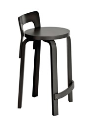 Artek High Chair K65 Wooden Bar Stool
