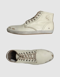 Cycle High Top Sneakers Ivory