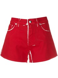 Love Moschino Paint Effect Shorts 60