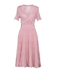 Care Of You Knee Length Dresses Pink
