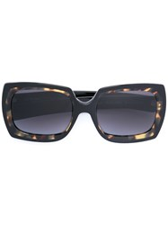 Oliver Goldsmith Square Sunglasses Brown