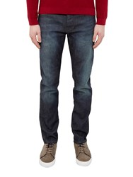 Ted Baker Sulph Straight Fit Jeans Dark Wash