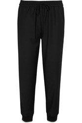 J.Crew Drapey Stretch Wool Blend Tapered Pants Black