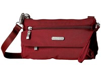 Baggallini Plaza Mini Scarlet Cross Body Handbags Red