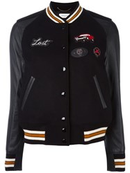 Coach Baseball Jacket Black