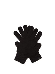 Paul Smith Cashmere Blend Gloves Black