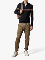 Ted Baker Tincere Super Slim Fit Chinos Natural Cream