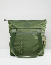 Dr. Martens Dr Green Flight Tote Backpack Light Green Nylon