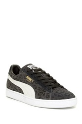 Puma Animal Print Sneaker Black