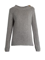 Vanessa Bruno Galzi Wool And Cashmere Blend Sweater Light Grey