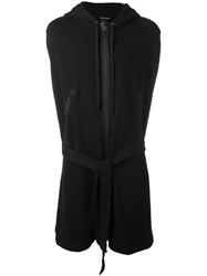 Ann Demeulemeester Embroidered Bird Cardigan Black