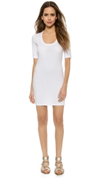 Lanston Camden Mini Dress White