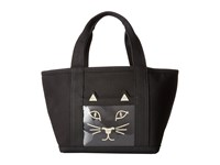 Charlotte Olympia Petit Ami Kitty Small Black
