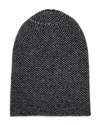 Bloomingdale's The Mens Store At Bloomingdales Tweed Slouch Hat Black Grey