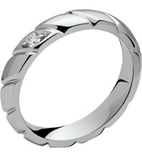 Chaumet Torsade De Platinum Diamond Set Wedding Band