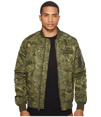 Members Only Mo 1 Jacquard Bomber Olive Men's Coat