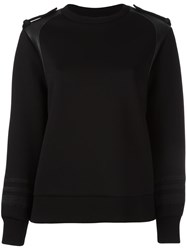 Neil Barrett Round Neck Sweatshirt Black