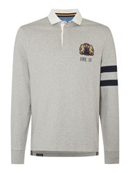 Howick Freemont Rugby Top Grey Marl