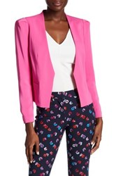Rebecca Taylor Structured Suit Jacket Pink