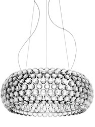Foscarini Large Caboche Led Suspension Lamp Transparent