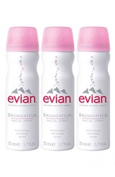Evian Facial Water Spray Trio No Color