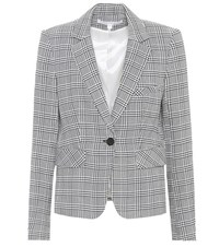 Veronica Beard Plaid Blazer Grey