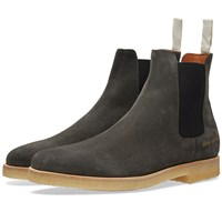 Common Projects Chelsea Boot Suede Black