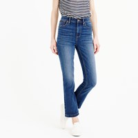 J.Crew Billie Demi Boot Crop Jean In Bergen Wash
