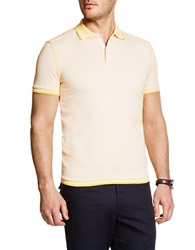 Vince Camuto Patterend Polo Yolk Yellow