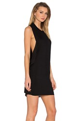 Blq Basiq High Neck Tank Dress Black