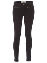 White Stuff Jenny Zip Jeggings Charcoal