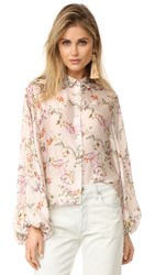 Alexis Nicolette Top Blooming Ivory